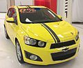 '16 Chevrolet Sonic Hatchback (Carrefour Angrignon).jpg