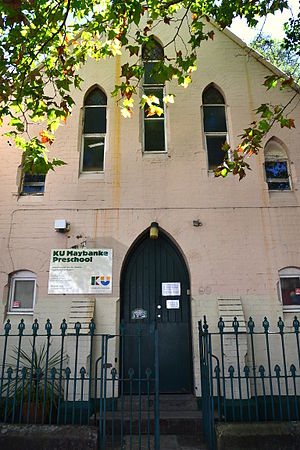 Pyrmont, New South Wales - Maybanke Kindergarten, named after Maybanke Anderson, in Harris Street