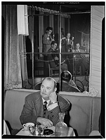(Portrait of Paul Whiteman, Joe Mooney, Andy Fitzgerald, Gaeton (Gate) Frega, and Jack Hotop, Eddie Condon's, New York, N.Y., ca. June 1947) (LOC) (4843148889).jpg
