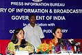 (Smt.) D. Purandeswari addressing the All India Editors Conference on Social Sector Issues, at Puducherry on February 11, 2012. The Principal Director General (M&C), Press Information Bureau, Smt. Neelam Kapur is also seen.jpg