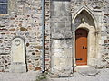 Église Saint-Amand de Virandeville - Portail méridional.JPG