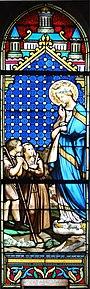 Église de Candé-sur-Beuvron, vitrail 17.JPG