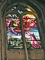 Église de Chaumont en Vexin vitrail choeur 5.JPG
