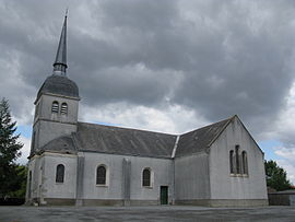The church in Touvois