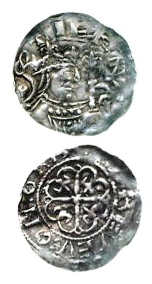History of the English penny (1066–1154) - A penny minted under the authority of King Stephen
