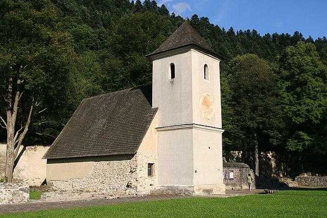 Church of Monastery in Červený Kláštor