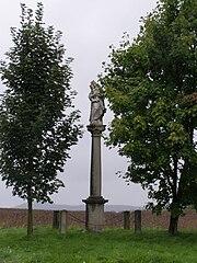 Sloup se sochou Panny Marie Pomocné