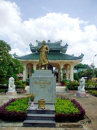 Biên Hòa - Nguyễn Hữu Cảnh temple in Cù Lao Phố.