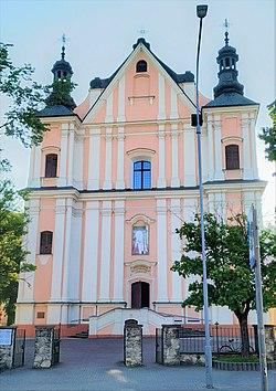 Łuków, kościół Podwyższenia 2.jpg