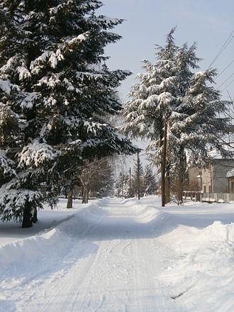 Aleksa Šantić (village) - Image: Šantić zimi P2050052