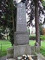 Želechovice (Čížkovice), pomník padlým za První světové války.JPG