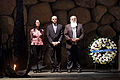 """Επίσκεψη στο Μνημείο των Μαρτύρων και Ηρώων του Ολοκαυτώματος """"Yad Vshem"""", Κατάθεση Στεφάνου στην Αίθουσα Μνήμης (4821456456).jpg"""