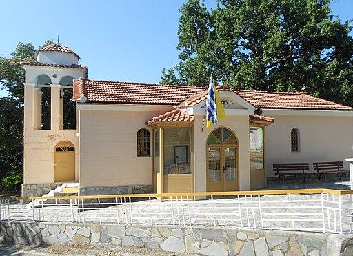 Ιερός Ναός Αγίου Παντελεήμονα, Καματριάδες Ευβοίας
