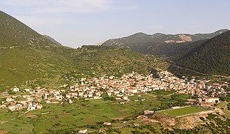 Kyriaki - A view of Kyriaki.