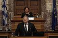 Ομιλία Αντιπροέδρου της Κυβέρνησης και ΥΠΕΞ Ευ. Βενιζέλου στα μέλη της Κοινοβουλευτικής Επιτροπής του ΝΑΤΟ (15522970738).jpg