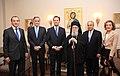 Συνάντηση ΥΠΕΞ κ. Δ. Δρούτσα με τον Σεβ. Αρχιεπίσκοπο Αμερικής κ. Δημήτριο (5032867007).jpg