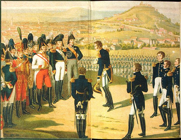 Александр I принимает капитуляцию наполеоновского Парижа
