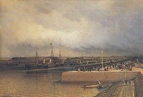 Боголюбов А П Открытие Петербургского морского канала 1886.jpeg