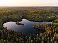 Волшебные Голубые озера вечером.jpg