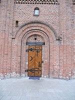 Вхідні двері до П'ятницької церкви в Чернігові.JPG