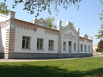 Zinkiv - Image: Зіньківський районний народний історичний музей