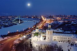 A view of central Tyumen