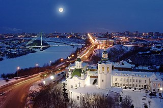 Tyumen City in Tyumen Oblast, Russia