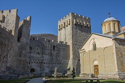 Манасија - црква и кула