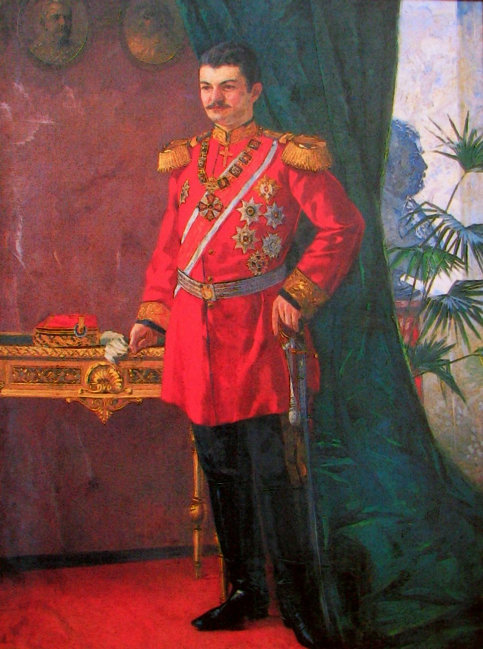 Марко Мурат - Александар Обреновић, 1895