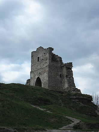 Kremenets Castle - Image: Надвратная башта Кременецького замку