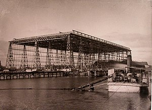 Black Sea Shipyard - Shipbuilding dock (c. 1900)