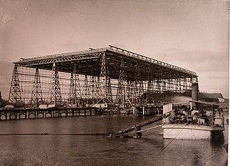 Black Sea Shipyard - Shipbuilding dock (c. 1900)