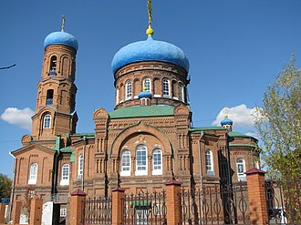 Altai Krai - Cathedral of the Protection of the Theotokos in Barnaul, Altai Krai