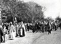 Похороны Марии Фёдоровны (10-1) Митрополит Евлогий и священники.jpg