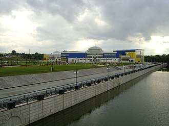 Svetlana Khorkina - The sport complex of the Belgorod State University, named in honour of Khorkina, in Belgorod, her native city