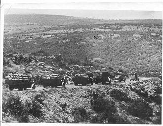 Tegart's Wall - Workers building Tegart's Wall, 1938