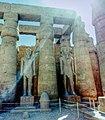تماثيل فرعونية بمعبد الأقصر.jpg