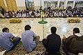 عکس های مراسم ترتیل خوانی یا جزء خوانی یا قرائت قرآن در ایام ماه رمضان در حرم فاطمه معصومه در شهر قم 45.jpg