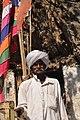 सीतामाता मंदिर के सामने एक मीणा आदिवासी.jpg