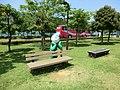 おおい町総合運動公園野球場 ベンチ - panoramio.jpg