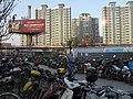 南京双龙大道岔路口地铁站外自行车停车场 - panoramio (1).jpg