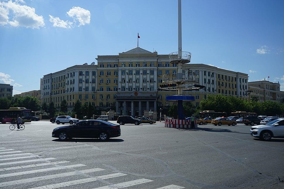 黑龙江省人民政府大楼2017夏