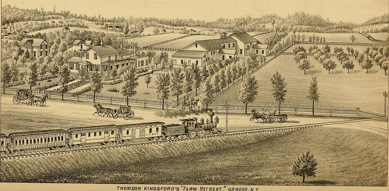 New york oswego county parish - File History Of Oswego County New York 1877 14764182942 Jpg