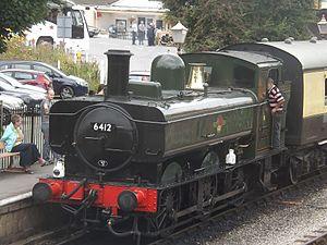 GWR 6400 Class - Image: 0 6 0PT 6412 GWR Built 1934 (21197409460)