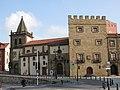 025 Col·legiata de San Juan Bautista i torre del Palacio de Revillagigedo, pl. del Marqués (Gijón).jpg