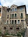 028 Edifici de les Monges, façana sud, vora el Ritort (Camprodon).JPG