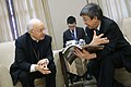 05.18 副總統接見「世界主教會議」秘書長巴迪謝里樞機主教,希望樞機主教在台期間感受到台灣的宗教自由、民主與人民的熱情好客,此行必定能促進雙邊關係 (34689360726).jpg