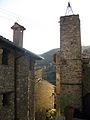 072 Beget, carrer de França, antiga torre del rellotge.jpg