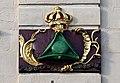 0 Arras, Grand'Place, 57 - Enseigne 'Au Chapeau Vert'.JPG