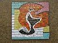 1220 Quadenstraße 6-8 - Rudolf Huber-Hof - Stg 19 - Mosaik Abstrakte Komposition von Joana Steinlechner-Bichler 1970 IMG 8581.jpg